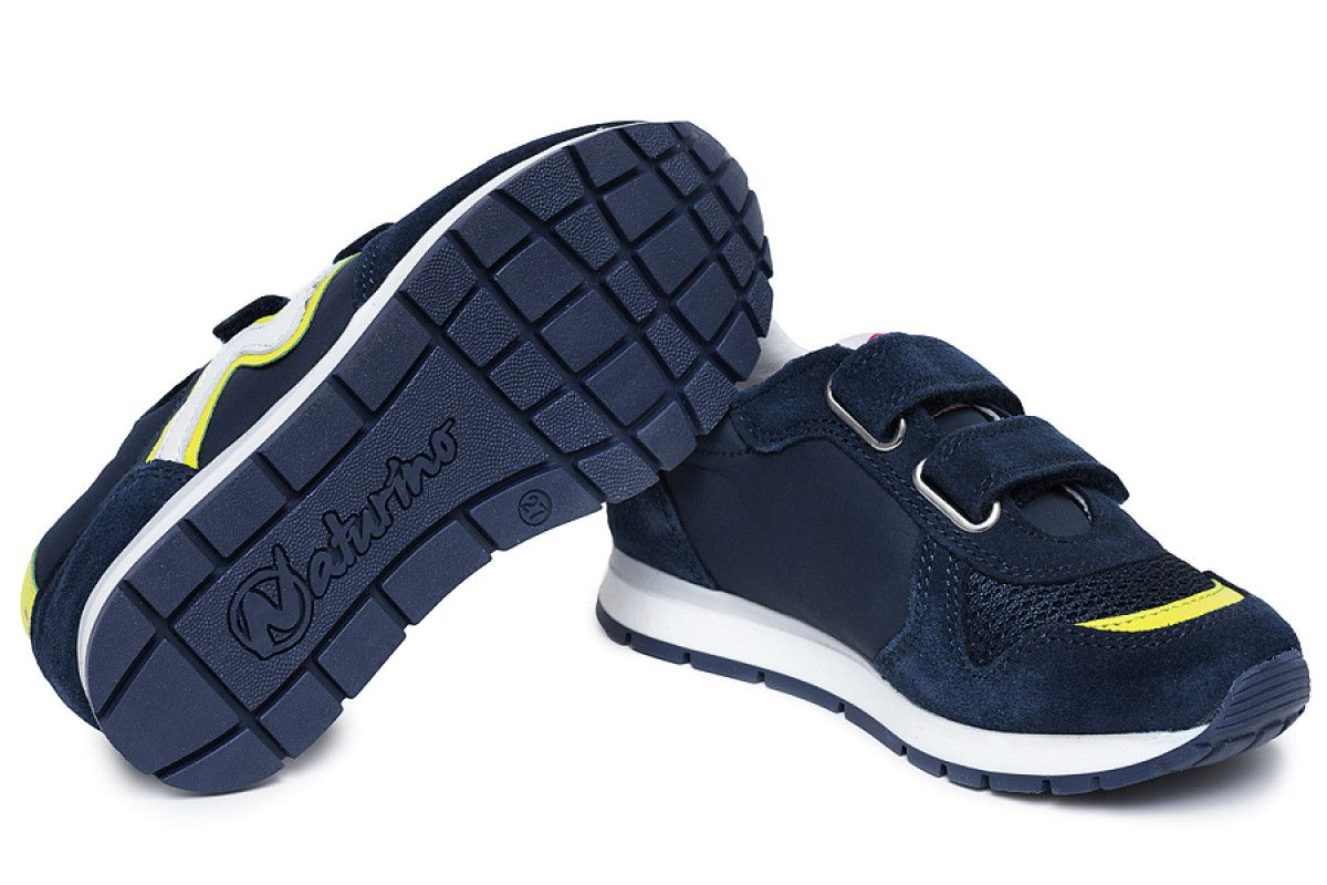 Kid's Sneakers Naturino Bomba Navy