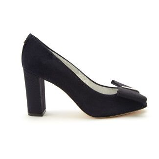 Peep-toe Pumps Irene 27 Cam. Navy-000-012153-20