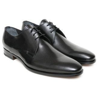 Men's Derby Shoes Apia 1032 Nero Cal.