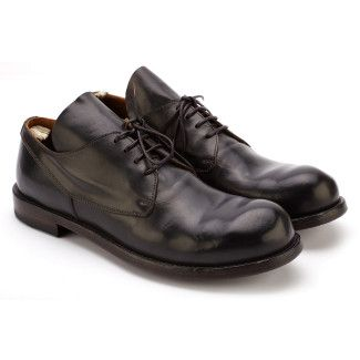Men's Lace Up Shoes OFFICINE CREATIVE Distort 006 Antracite