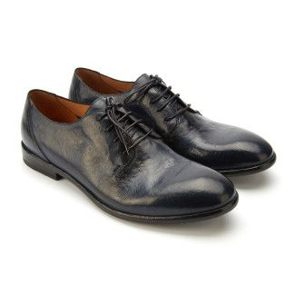 Men's Lace Up Shoes APIA Paulo Navy Blu