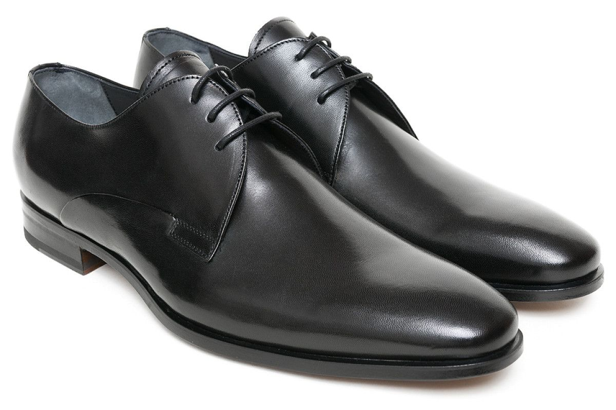 Men's Derby Shoes Apia President 1032 Nero Cal.
