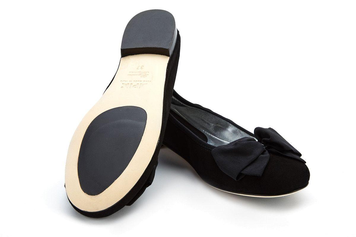 Women's Ballet Pumps APIA Primabalerina Cam. Nero