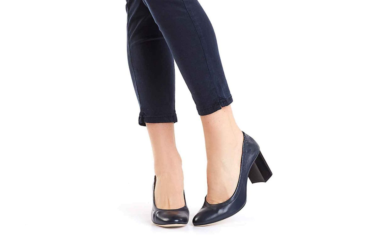 Women's Pumps APIA Flora Nappa Navy