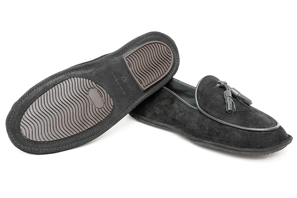 Men's Slippers Apia 17321 Nero