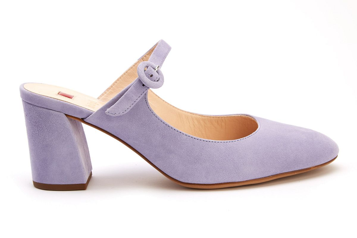 hot sales cost charm best prices Women's Heeled Mules HOGL Dolce Vita 7-105112 Lilac - APIA EE