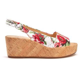 Wedge Sandals Seaside 7-103216 Weiss-001-001501-20