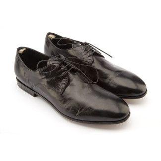 Men's Derby Shoes OFFICINE CREATIVE Lucien/16 Sting Nero