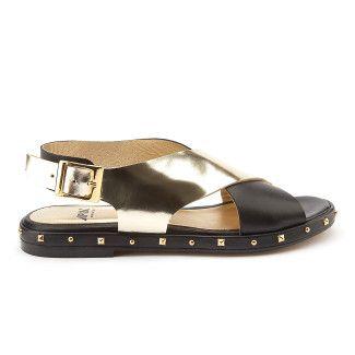 Women's Sandals APIA Pisa Calf Nero