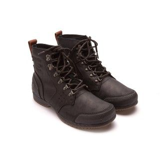 Men's Lace Up Boots SOREL Ankeny Mid Hike Black