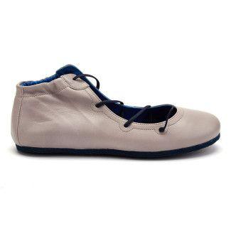 Women's Ballet Pumps APIA Calapia 04 Calf Grigio 5134