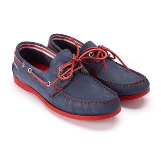 Men's Boat Shoes APIA Boat 02 NL 12570 Red