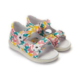 Kid's Sandals NATURINO Falcotto 1570 Bianco Multi