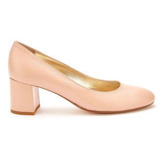 Women's Pumps Block Heel APIA Classic Nappa Skin