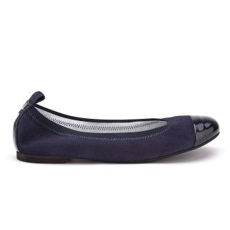 Women's Ballet Pumps APIA Due E Cam. Blu/ Naplack Blu