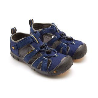 Kid's Sandals KEEN Seacamp II CNX Blu Dep/Garg.