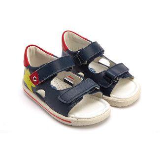 Kid's Sandals NATURINO Elios Navy/Giallo