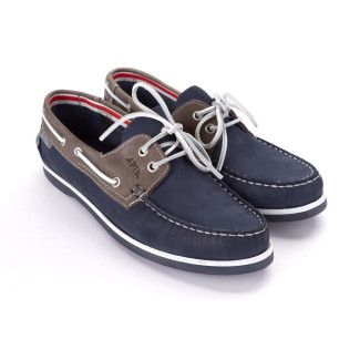 Men's  Boat Shoes APIA Boat 01 NL 13570 Grey