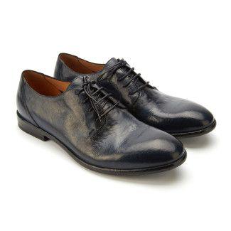 Men's Lace Up Shoes APIA Paulo Navy Blu