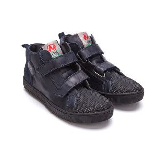Kid's Sneakers NATURINO Play Prisma Nero/Blue