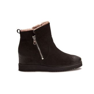 Women's Wedge Insulated Ankle Boots APIA Molvina Nero