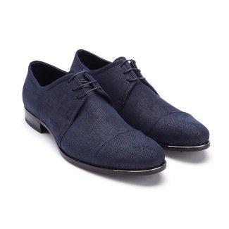 Men's Derby Shoes FABI 8756 Blu