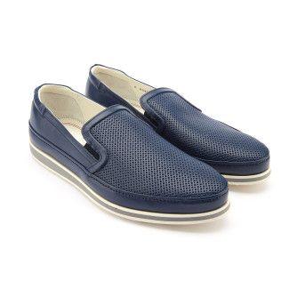 Men's Slip On Sneakers FABI FU8985 Blu