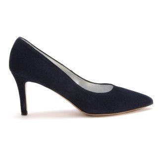 Women's Pumps High Heels APIA Opera Cam. Blu