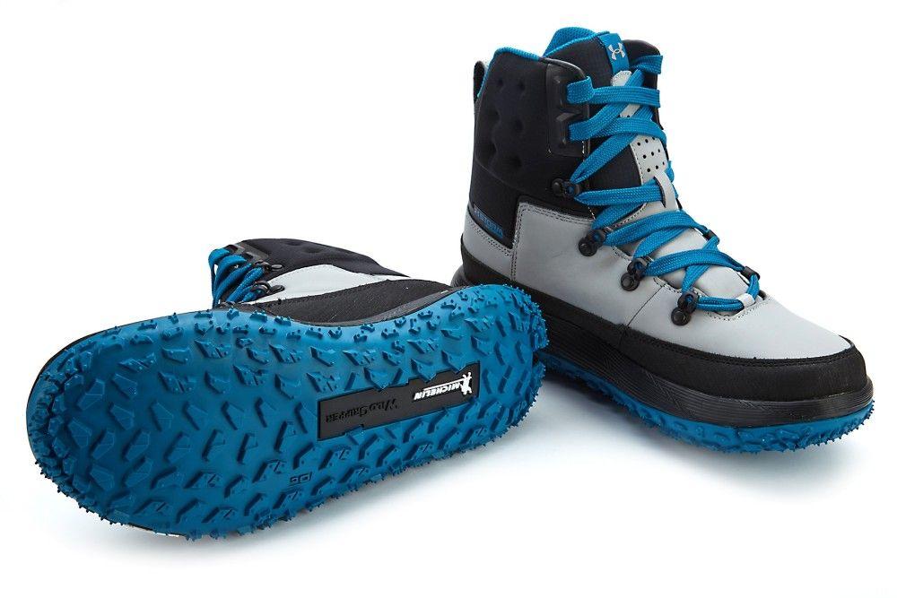 under armour fat tire shoes. men\u0027s sport boots under armour fat tire govie blk/ocg under armour shoes