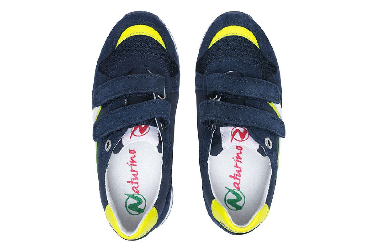 Kid's Sneakers Naturino Bomba Navy