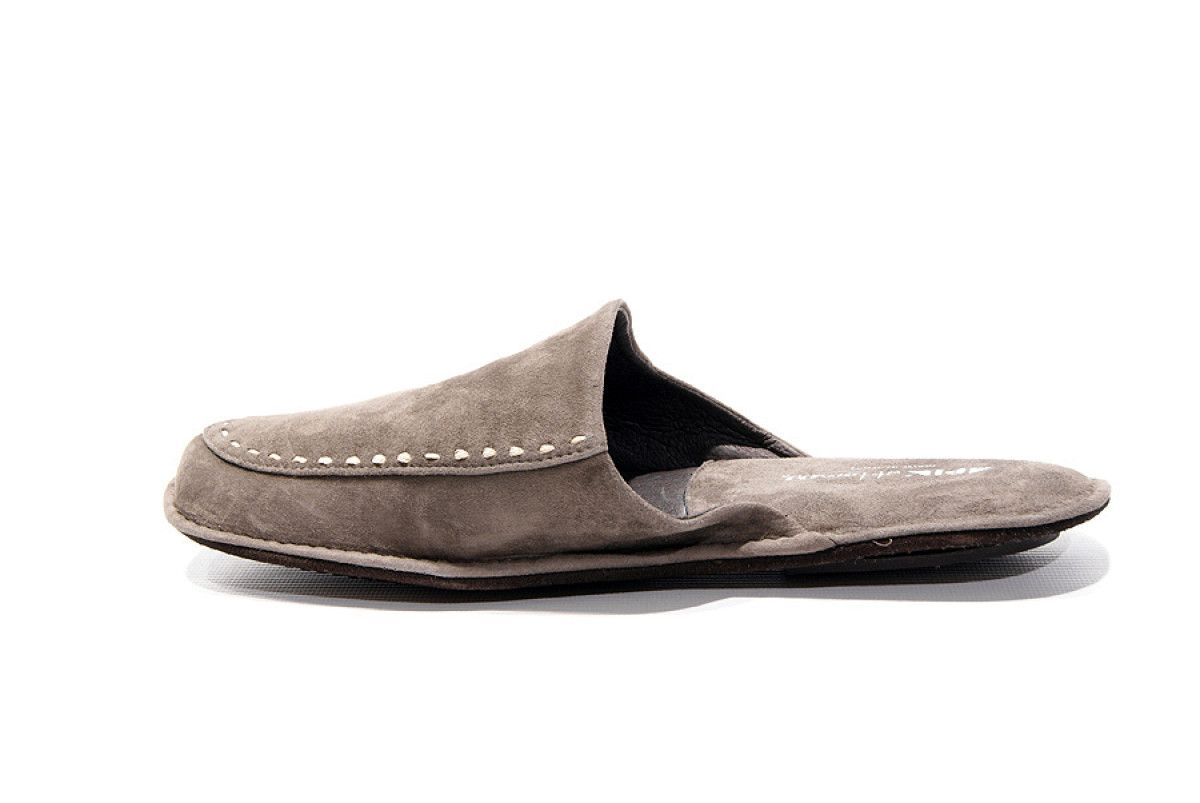 Men's Slippers Apia 12773 Grey
