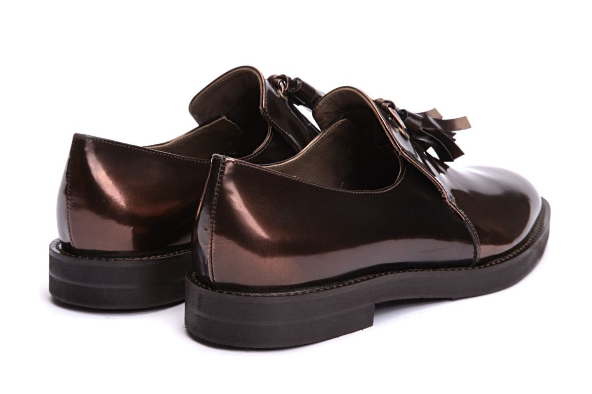 Women's Loafers APIA Metalic 02 Metal Rame