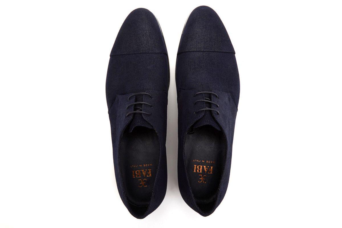 Men's Derby Shoes FABI 8300 Blu