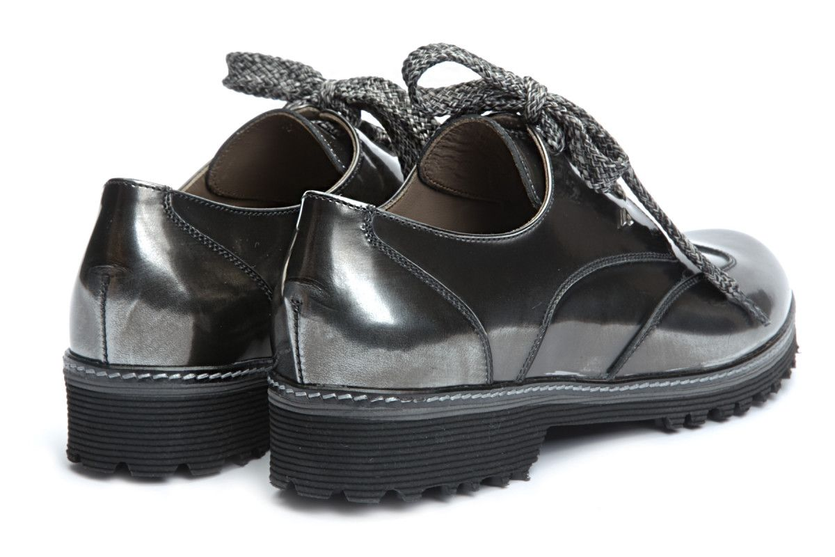 Women's Derby Shoes APIA Viro Metal Inox
