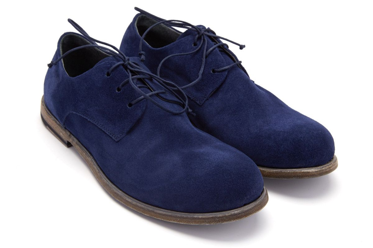 Men's Lace Up Shoes APIA Diego 01 Blu