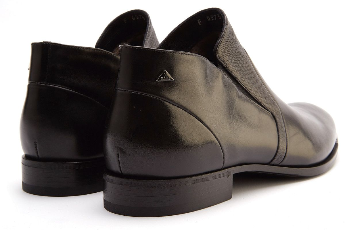 Men's Insulated Ankle Boots Fabi 6975 Nero