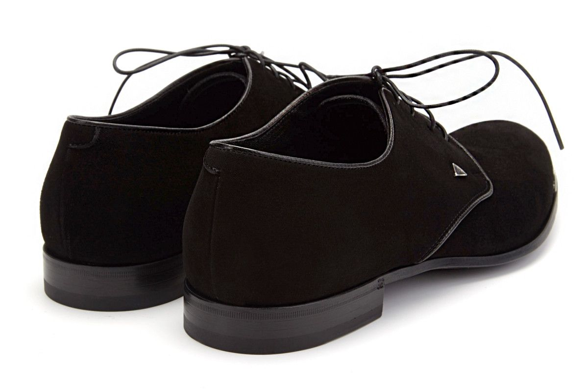 Men's Derby Shoes Fabi 6987 Velukid Nero