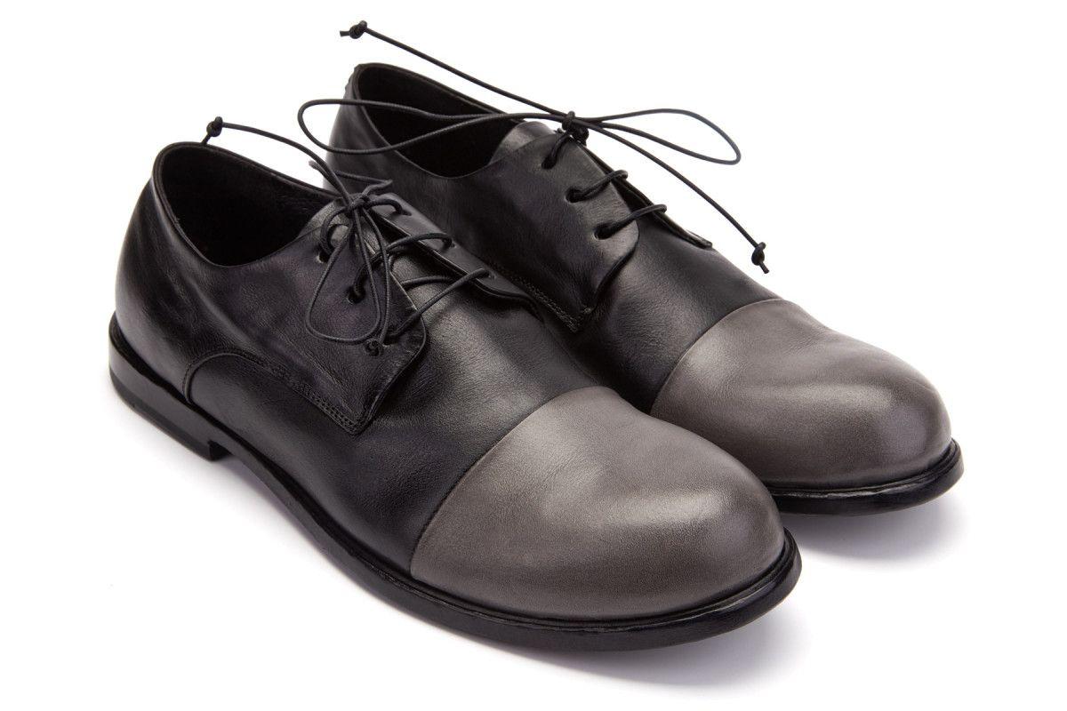 Men's Lace Up Shoes APIA Diego 02 Storm/Nero