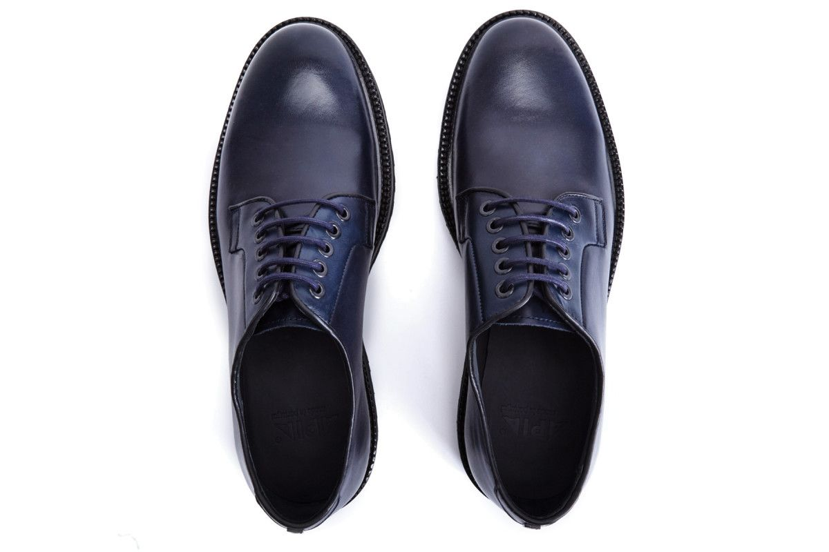 Men's Derby Shoes APIA Douro 01 Calf Blue