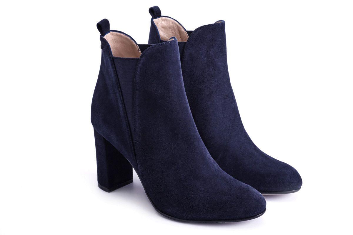 Women's Chelsea Boots APIA Adua 100 Suede Navy