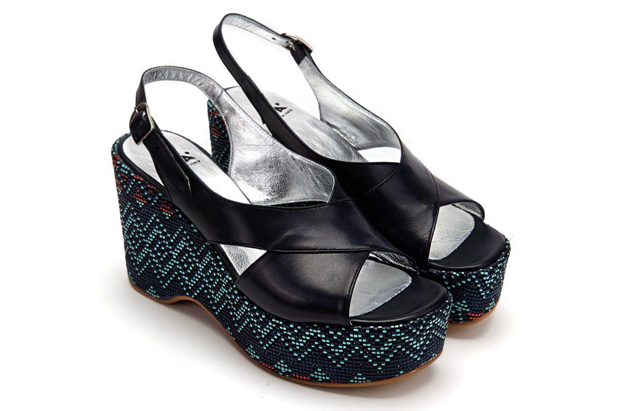 Women's Sandals APIA Gojo Nappa Kansas Blu