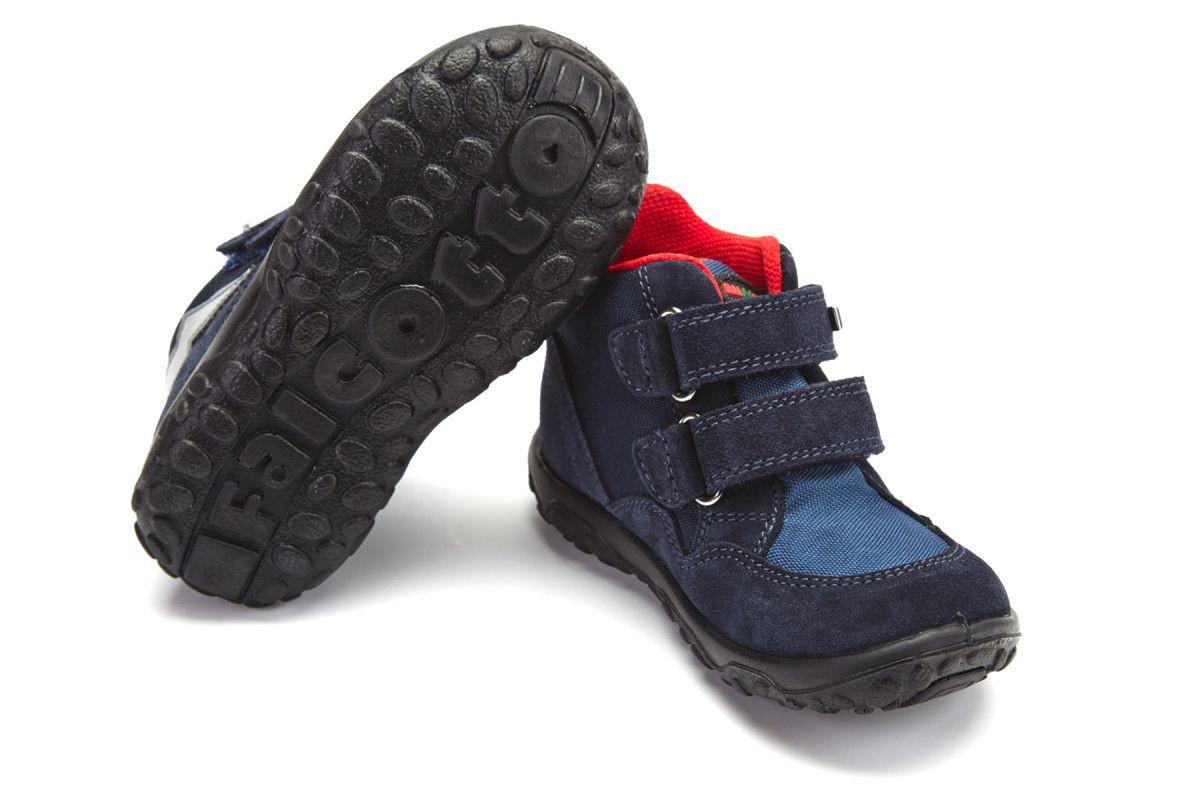 Kid's Ankle Boots NATURINO Lovcen Vel/Cor Bleu