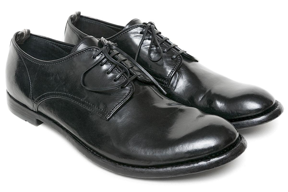 Men's Derby Shoes OFFICINE CREATIVE Anatomia 60 Nero