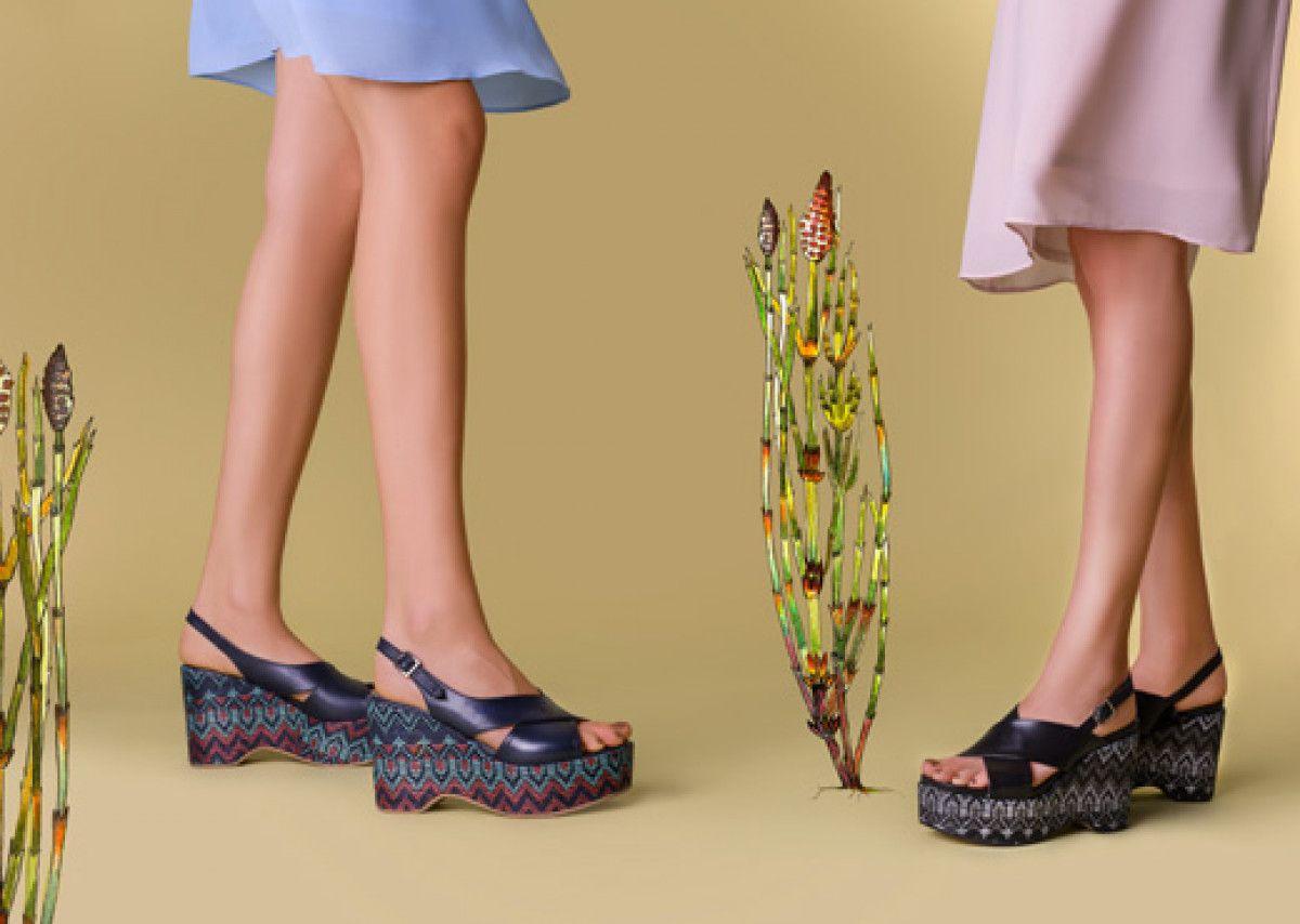 Women's Sandals APIA Gojo Vitello Kansas Nero