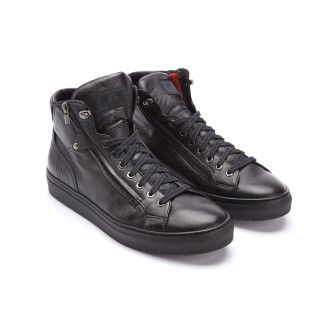 Men's High Top Trainer Insulated FABI 8736 Nero