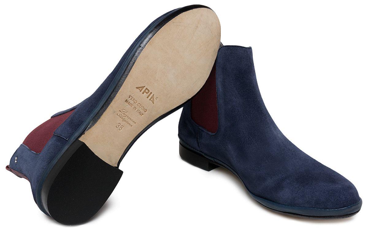 Women's Jodhpur Boots Apia 7500 Cam. Blu