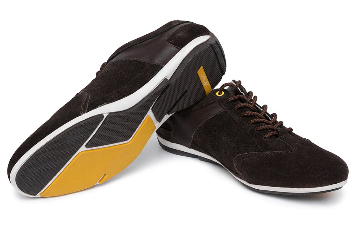Men's Sneakers Apia 1810 Brown/Yellow