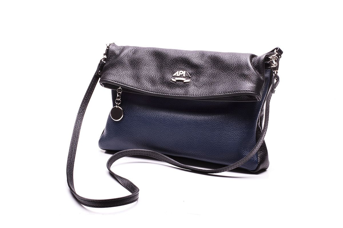 Women's Bag 210 APIA 2448 Nero/Piombo