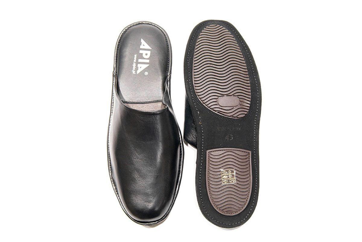 Men's Slippers Apia 12045 Negro