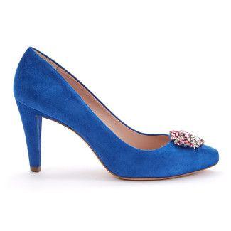 Pumps Nuumea Suede Blue-000-011739-20